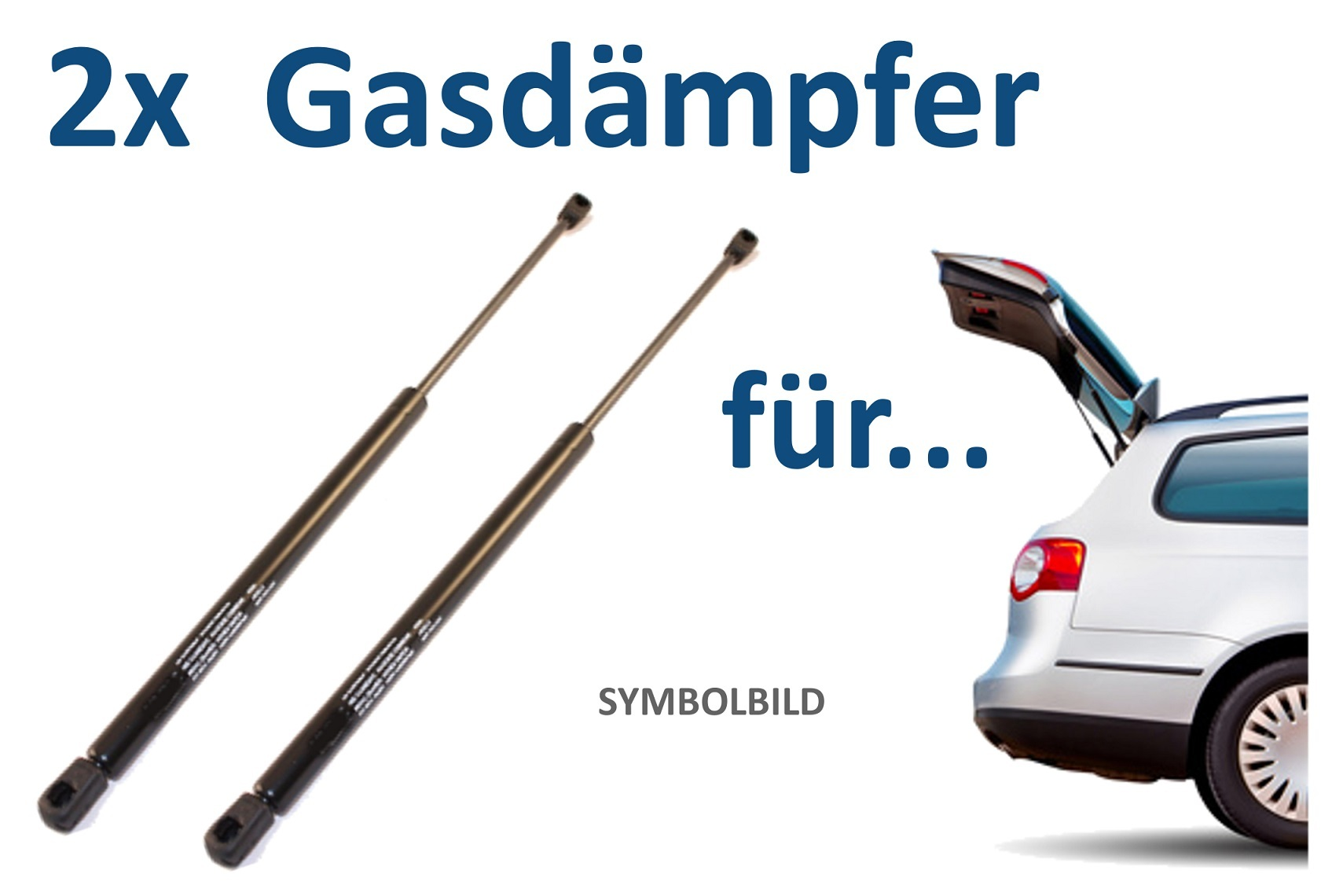 2 St Koffer-//Laderaum ////  LIFT-O-MAT®  Hinten für Opel STABILUS Gasfeder