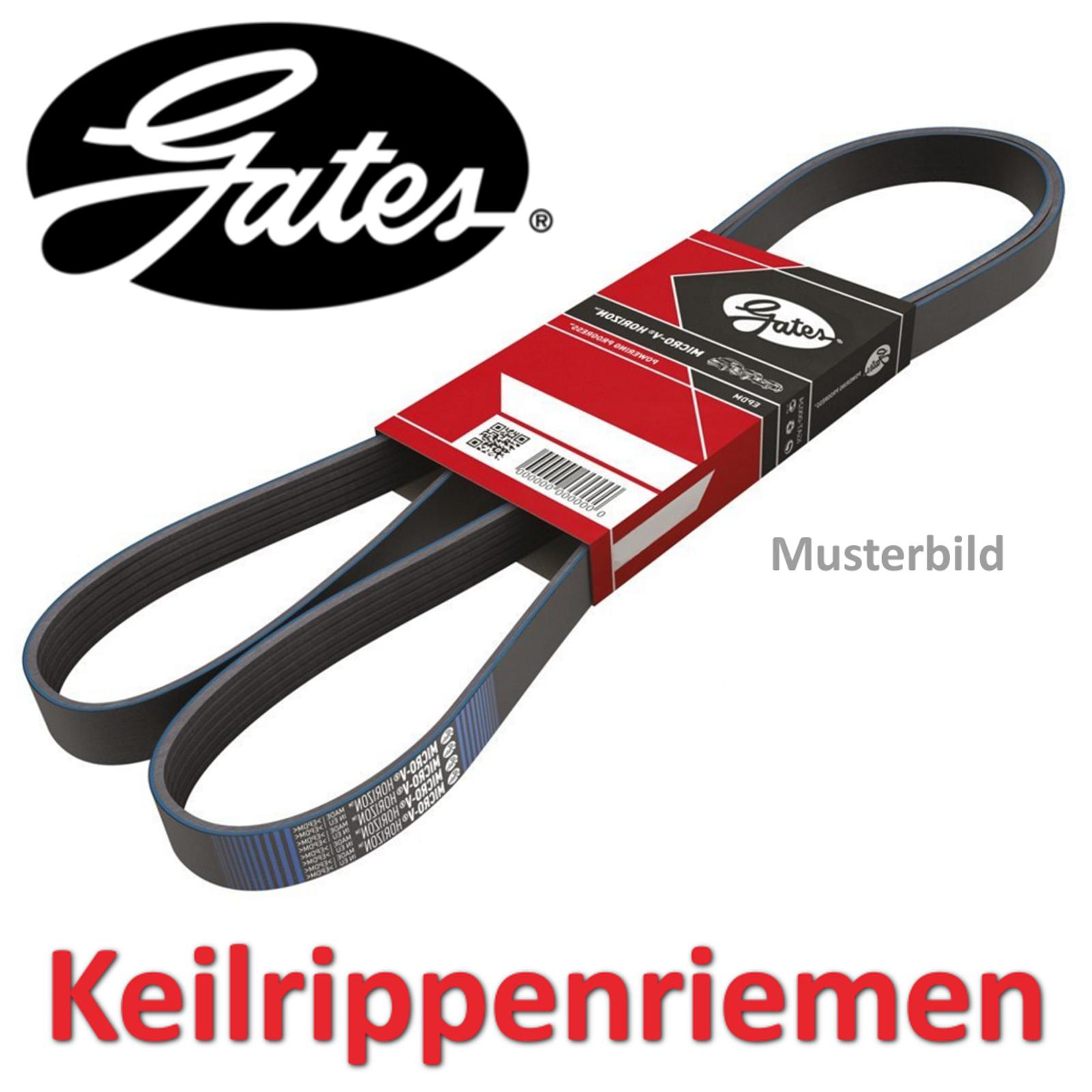 GATES Keilrippenriemen Keilriemen ALPINE RENAULT 5PK1452 5PK1440