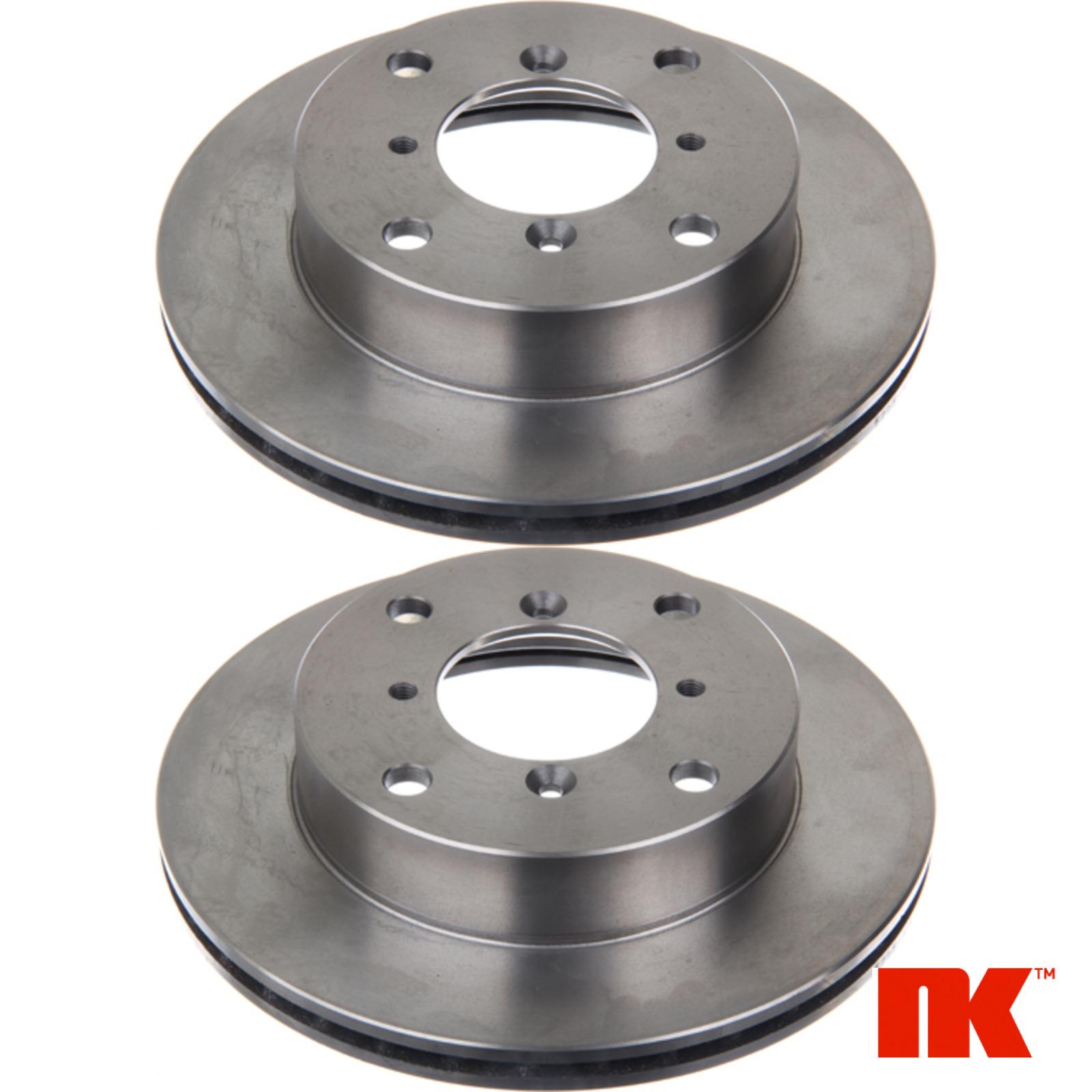 2x NK Bremsscheiben Vorn Vorderachse 205205