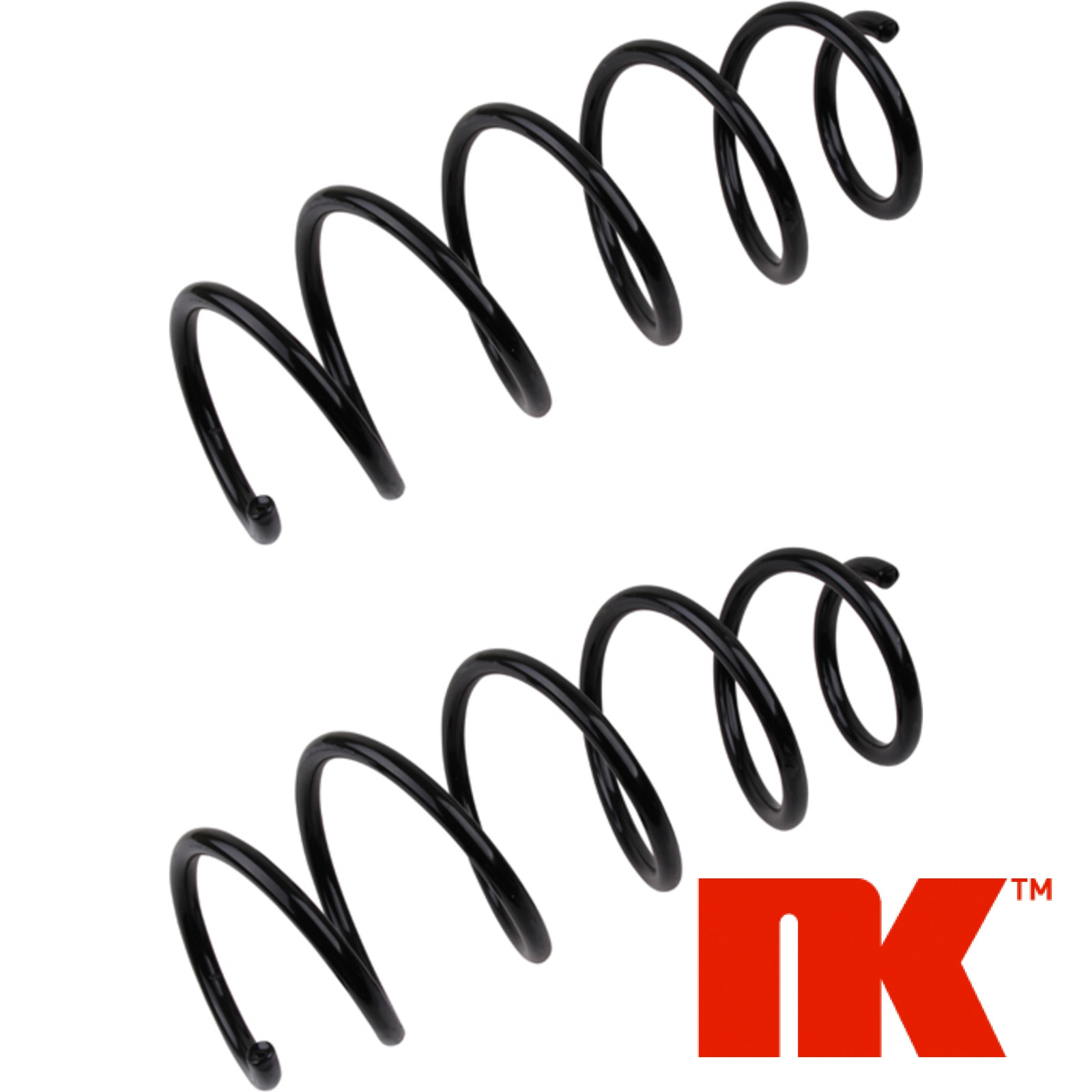 2x NK Fahrwerksfeder 2 Federn Vorn Vorderachse FORD 532569